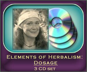 Elements of Herbalism: Dosage - 3 CD set