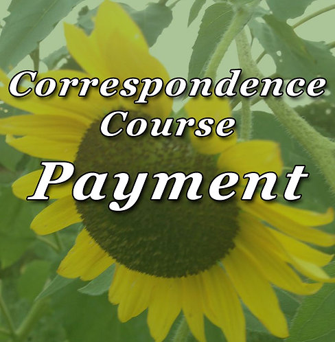 Correspondence Course Payment