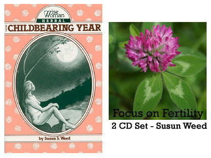 Wise Woman Herbal for the Childbearing Year book & Focus on Fertility 2 CD set