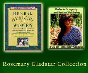 Herbal Healing for Women book & Herbs for Longevity and Radiant Well Being