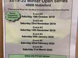 Winter Series Open Leaderboard