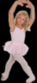 Ballerina in ballet pose