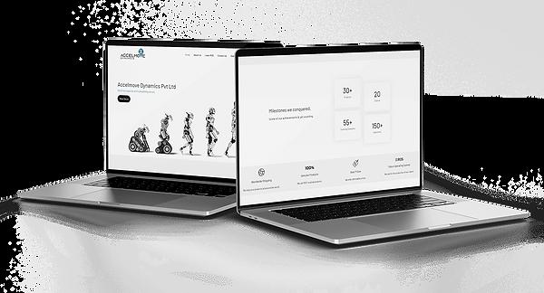 Artdots Studios Designed Accelmove Dynamics Website