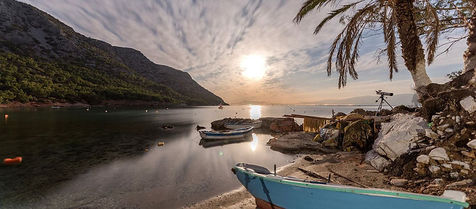 Mourtia beach in Samos island
