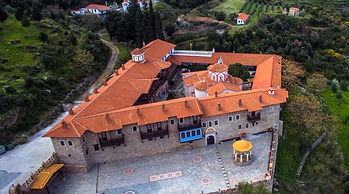 Monastery of Megali Panagia in Samos, Greece