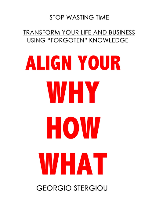 Align your WHY, HOW & WHAT pdf