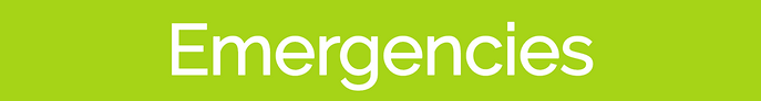 Emerggency sign