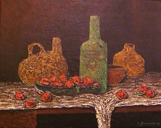 Stilleben mit Vasen