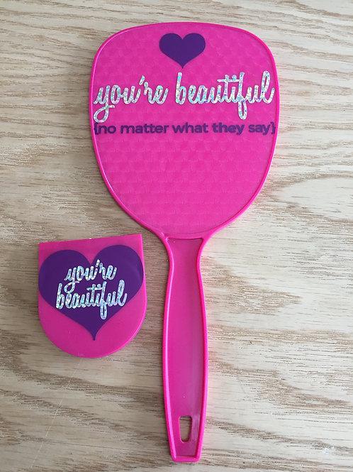 You're Beautiful Mirror Set