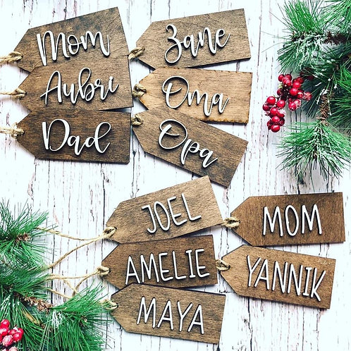 Copy of Personalized Gift Tags
