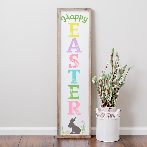Happy Easter Porch Sign - Kit or Made for You