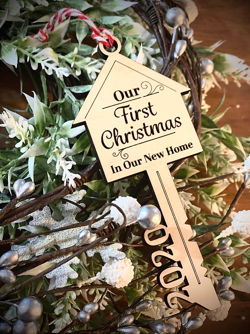 Our First Christmas In Our New Home 2020 Ornament