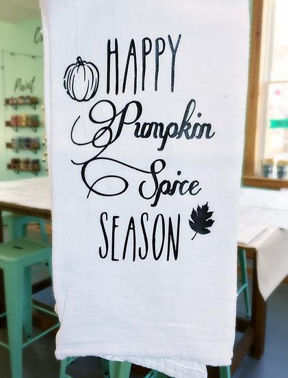 Tea Towel - Happy Pumpkin Spice Season
