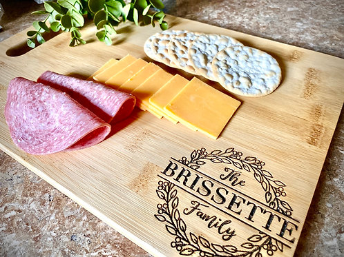 Personalized Engraved Cutting Board