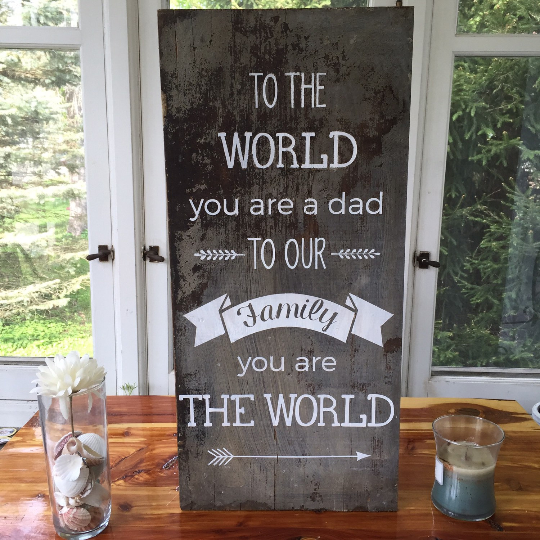 To the world you are a dad - Gift for Dad