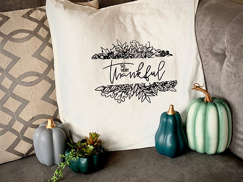 DIY Fall Pillow Cover Kit