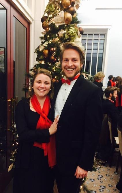 """Mr. & Mrs. Watson in """"Festival of Carols"""""""