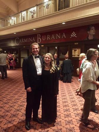"""Mr. & Mrs. Watson in """"Carmina Burana"""""""