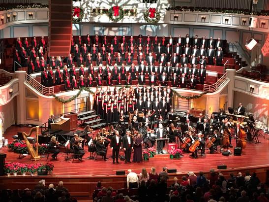 """Festival of Carols"" at The Palladium"