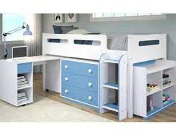 Twin Braxton Low Loft Bed