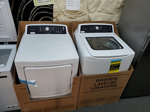 Frigidaire washer dryer set