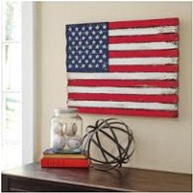 American Flag Rustic Wall art