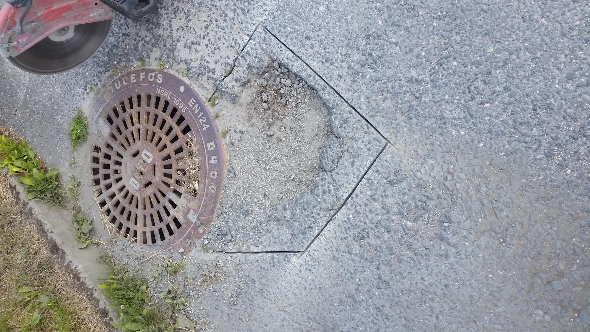 asfalt reparasjon