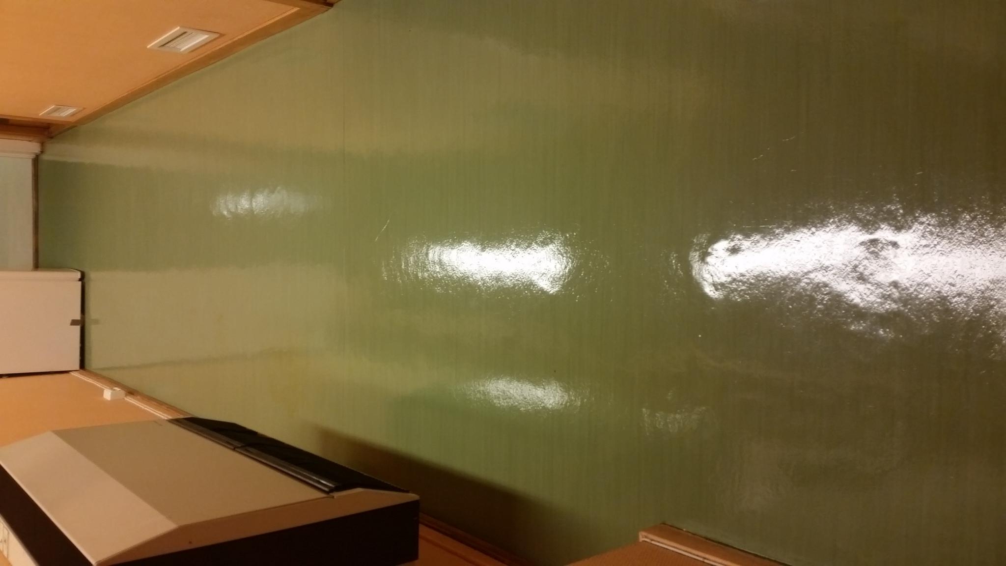 linolium gulv etter rehabilitering