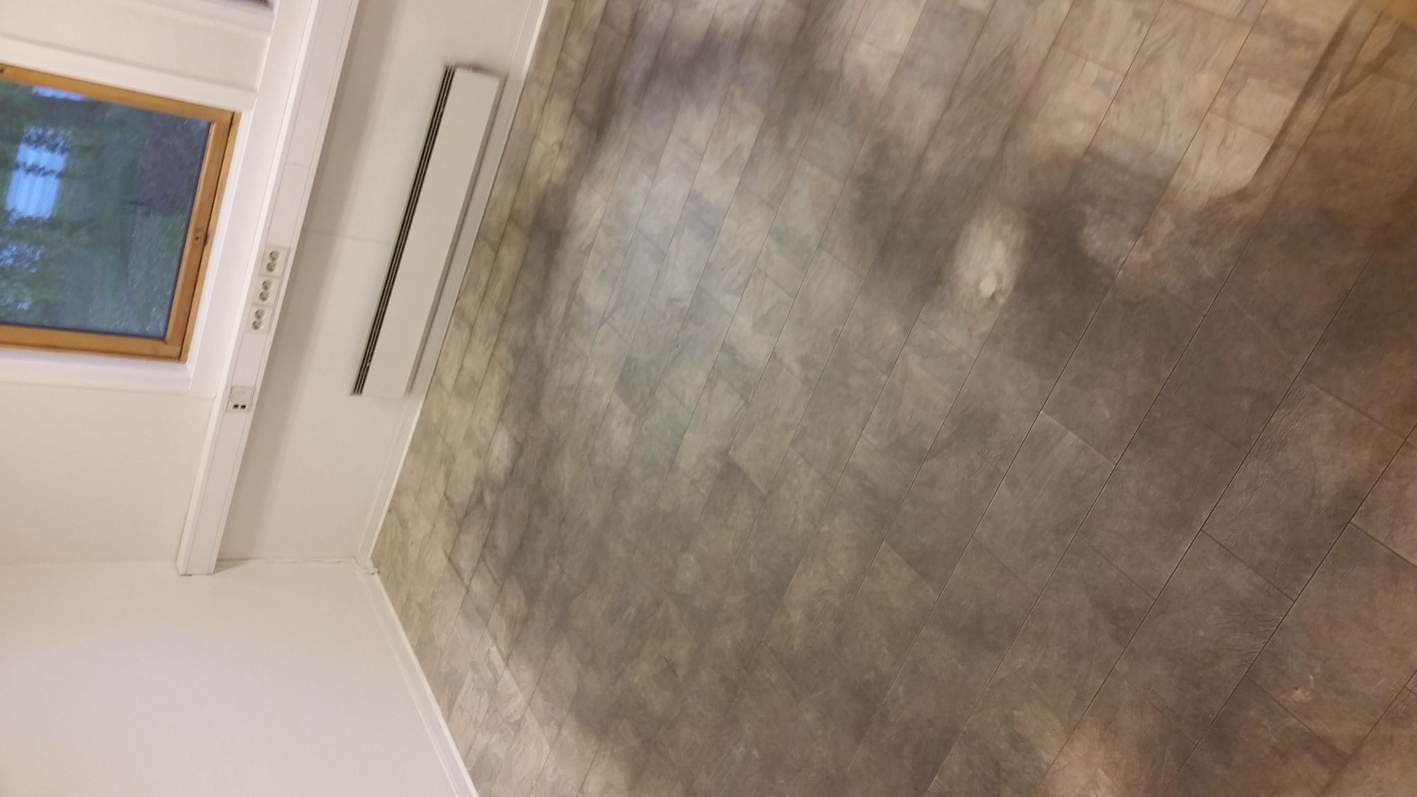 vinyl gulv rehabilitering