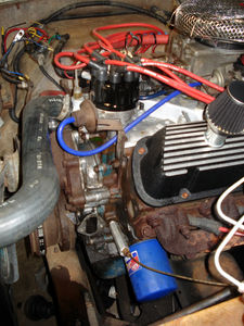 1975 Ford Bronco Electronic Fuel Injection Install (Holley