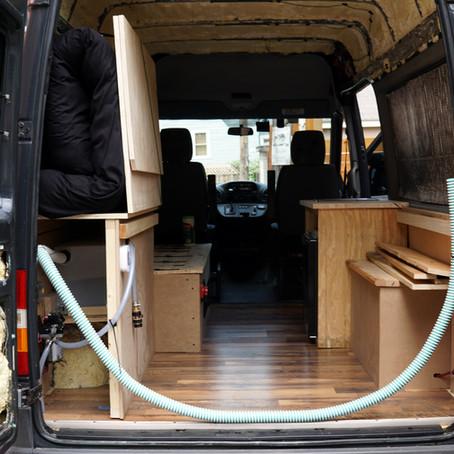 Dodge Sprinter Campervan Interior Build