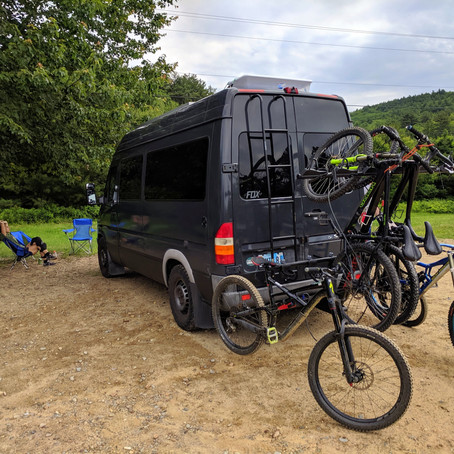 Yakima Hangover 6 Vertical Hitch Bike Rack REVIEW