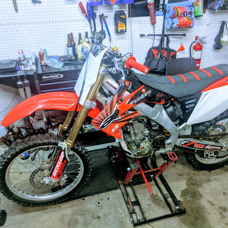 2004 Honda CRF250R Engine Rebuild (Case Repair/Bottom End)