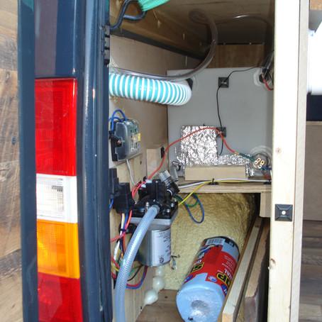 Dodge Sprinter Camper Van Plumbing Build (sink/shower)
