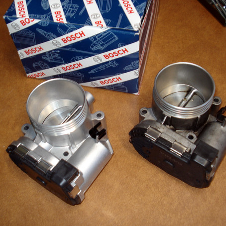 2004 Volvo S60R Throttle Body Replacement