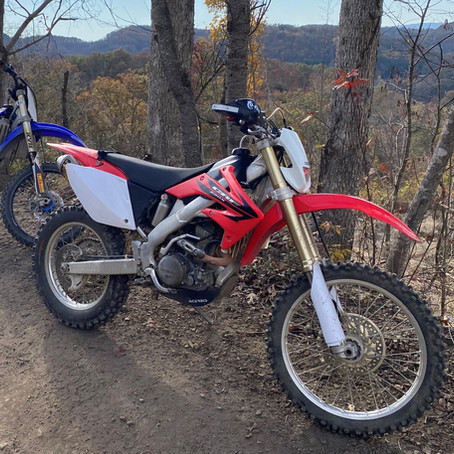 2006 Honda CRF250X Trail Riding Setup