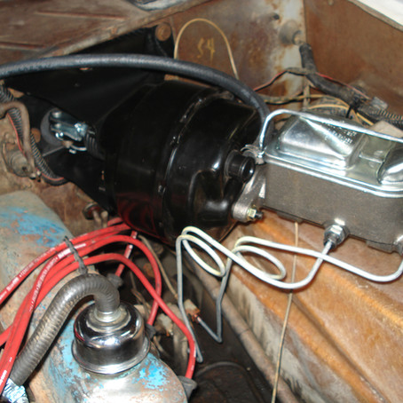 1975 Ford Bronco Power Brake Upgrade (Drums)