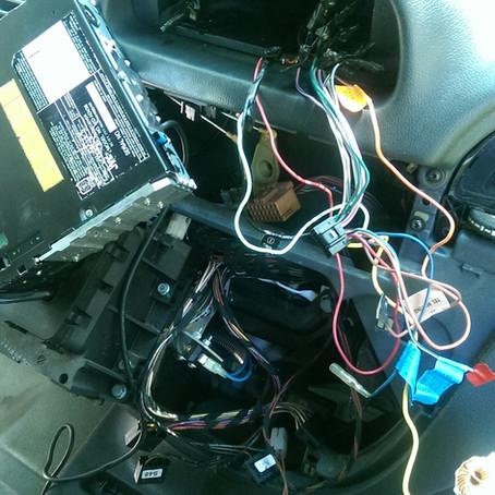 Dodge Sprinter Radio to Aux Battery Rewiring
