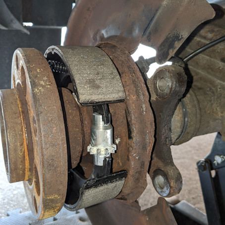 2004 Dodge Sprinter T1N Parking/Emergency Brake Replacement and Fix