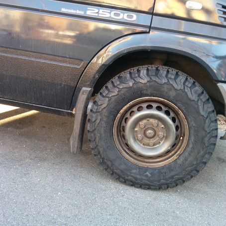 Dodge Sprinter Tire Upgrade BFGoodrich KO2 245/75/16