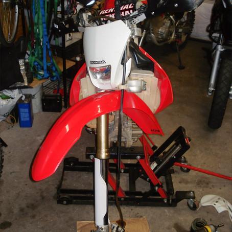 2006 Honda CRF250X Fork Rebuild