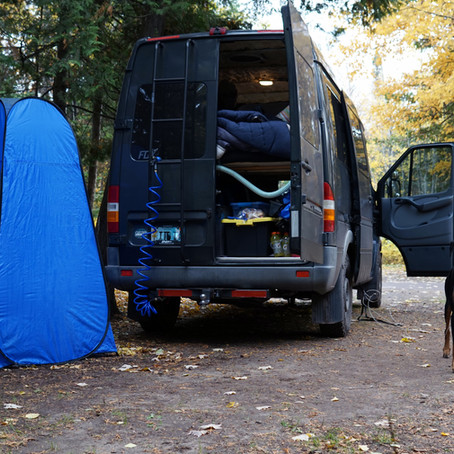 Tips for Traveling with a Dog in a Van or RV