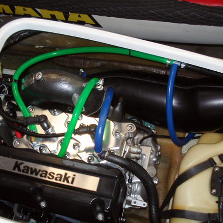 SXR 800 Factory Wet Pipe Install