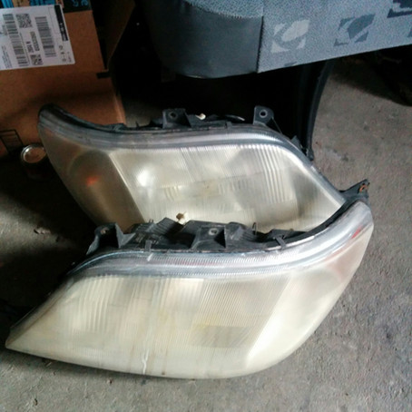 Sprinter Headlight Assembly Replacement (glossy headlights)