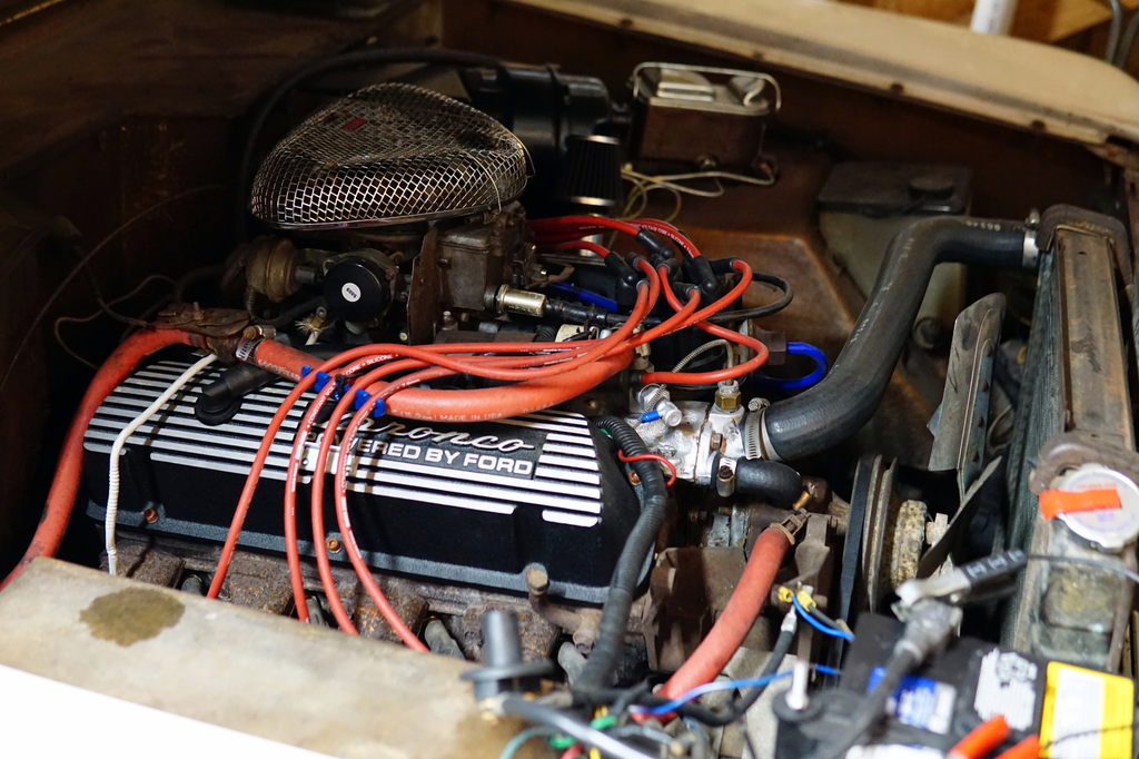 1975 ford bronco valve cover replacement