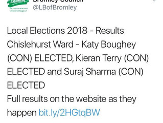 Chislehurst Election Results 2018