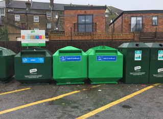 Councillors Deliver New Recycling Banks
