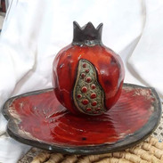 Granatapfel, Blattteller