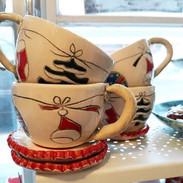 Weichnachtsset für Tee oder Kaffee