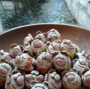 Glücksbringer Silvester - Schweinchen